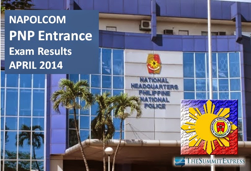 April 2014 PNP Entrance Exam Results: one of lowest passing rate in history