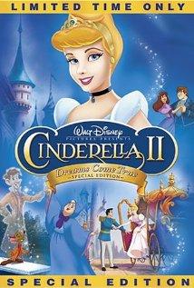 DVD cover Cinderella II: Dreams Come True 2002 disneyjuniorblog.blogspot.com