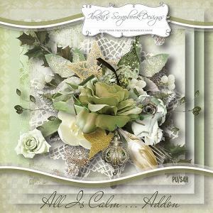 """All Is Calm Addon"" by Ilonka´s Scrapbook Designs - mein Layout"