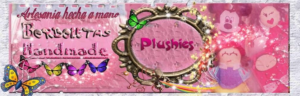 Plushies by BORBOLETAS Handmade