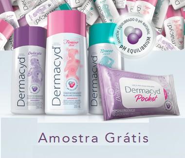 Amostra Gratis Sabonete Dermacyd para Higiene Íntima