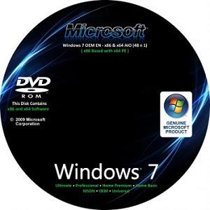Windows Seven OEM X86 e X64 – 48 em 1 – Ativado 09527712925556185687