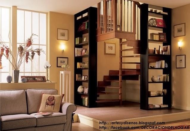 10 modelos y tipos de escaleras para interiores dise o y decoraci n - Como subir muebles por escalera caracol ...