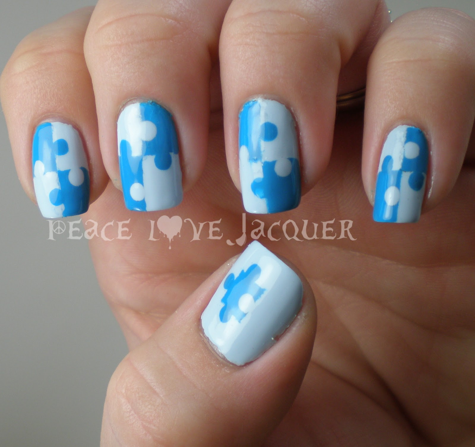 Peace love lacquer different shades of blue autism awareness zoya prinsesfo Images