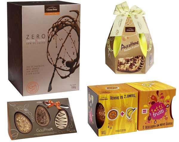 Cacau Show apresenta mais de 50 produtos para a Páscoa, entre eles 14 são  lançamentos