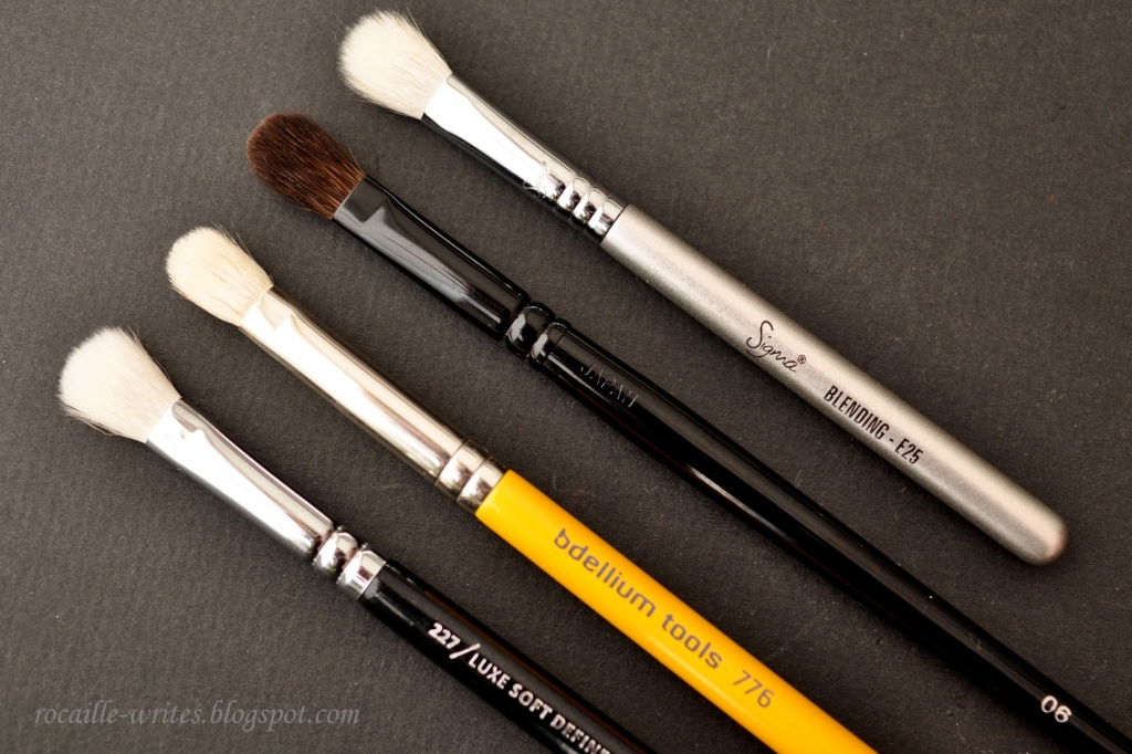 Makeup brushes like zoeva