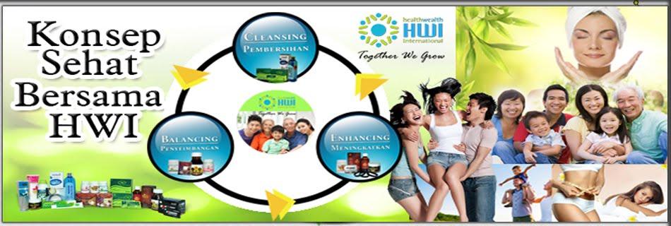 Distributor Resmi HWI Indonesia | Web Pendaftaran Member Resmi PT. Health Wealth International |