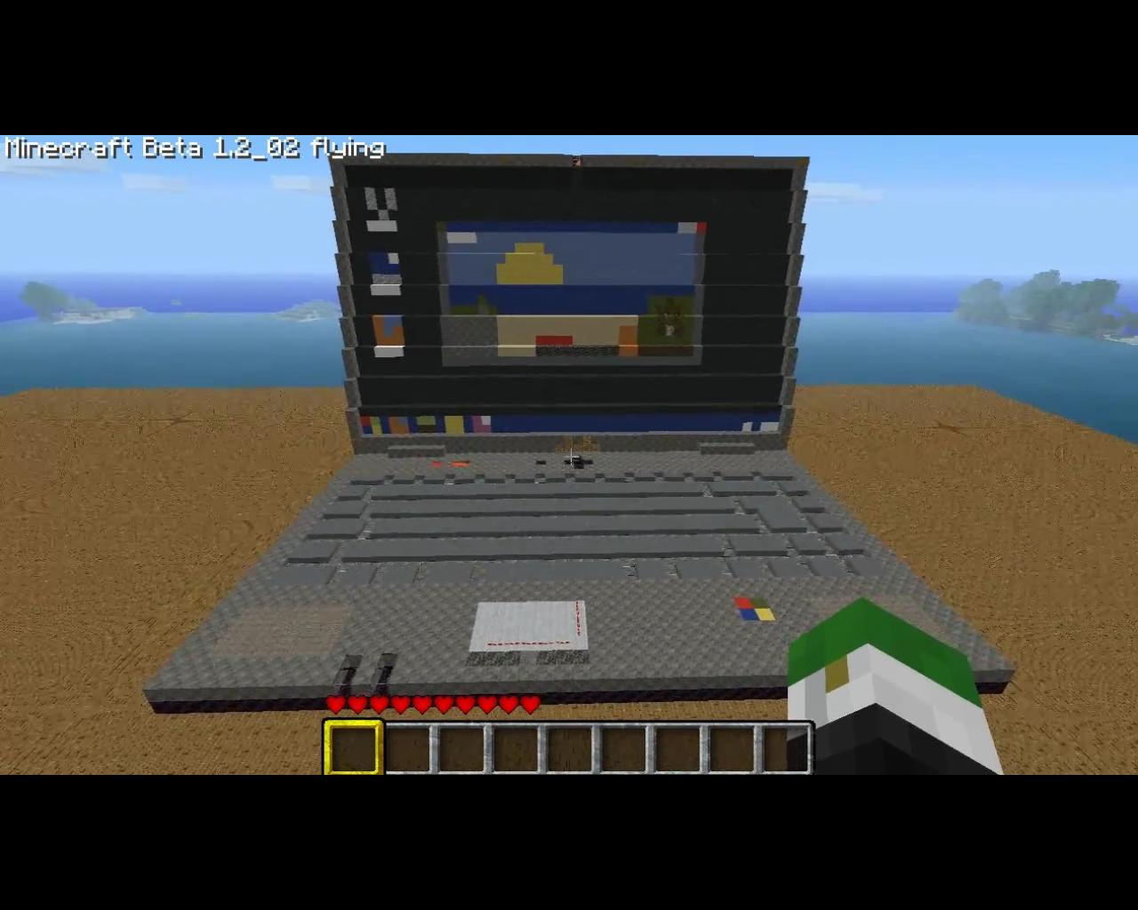 как сделать ночбук в майнкрафте 1.7.4 final на ноутбуке видео #1