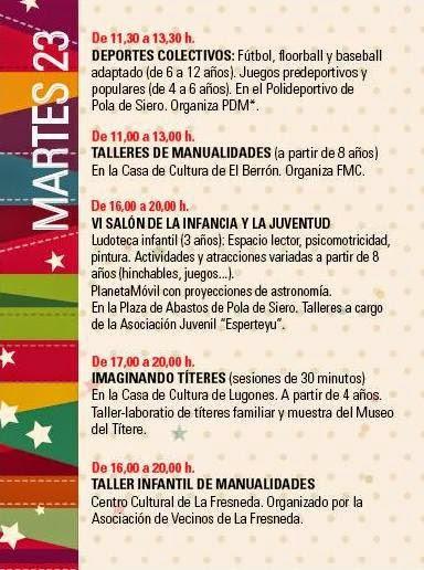 Asturias con niños: Siero: actividades infantiles navideñas