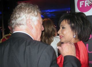 Gordon King and Shirley Bassey
