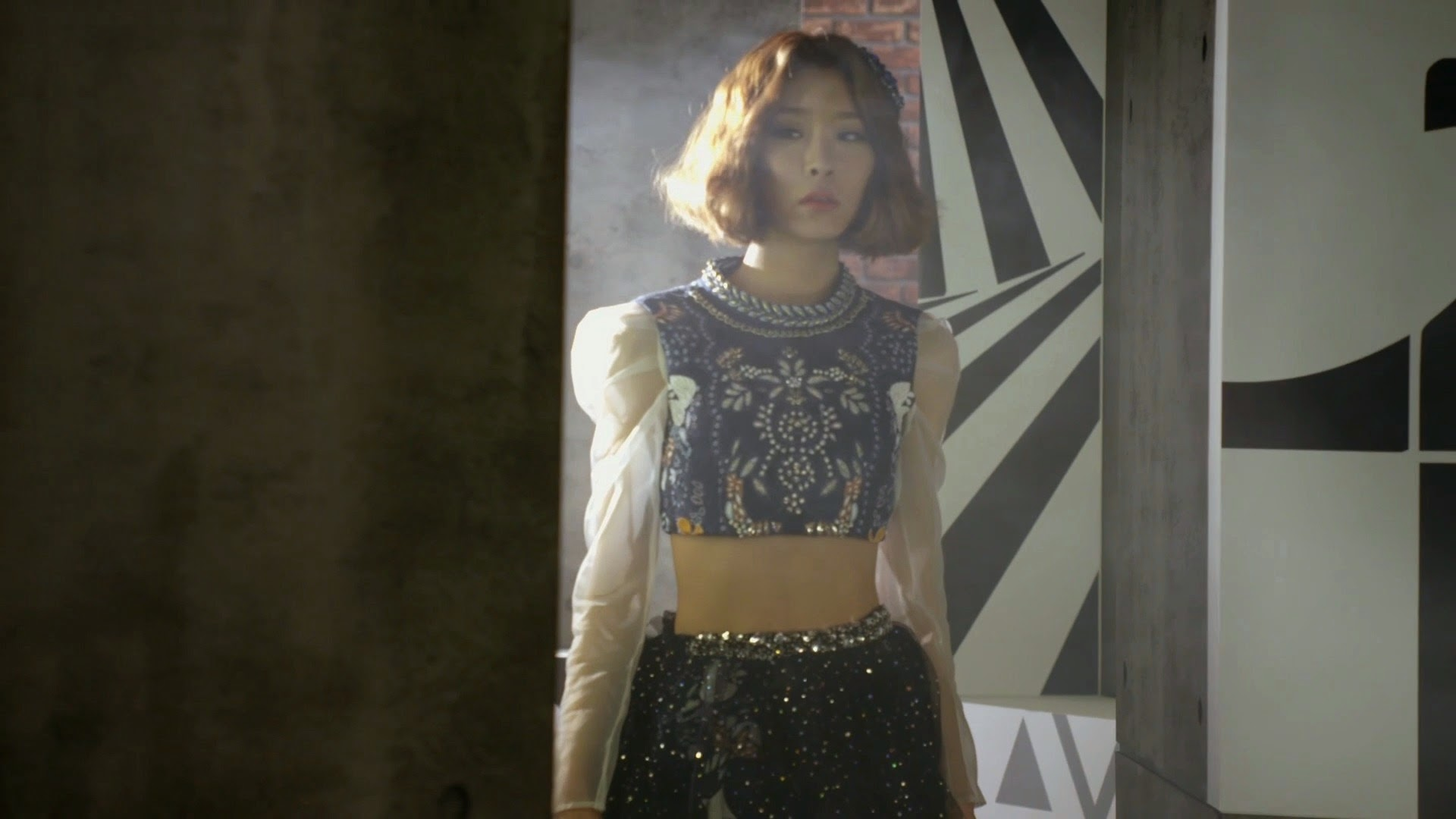 Dal Shabet's Gaeun in Joker MV