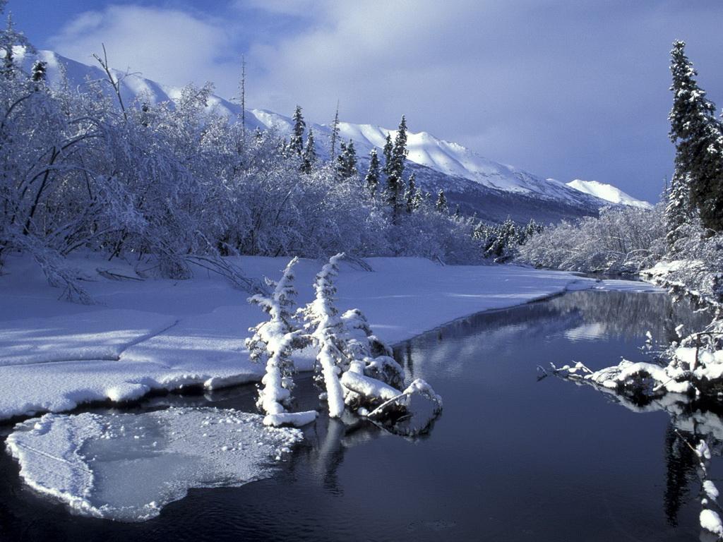 Free wallpapers winter wallpaper for Sfondi invernali per desktop gratis