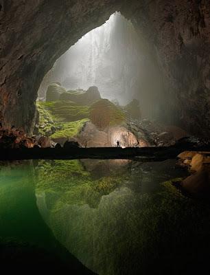 A Cave In Vietnam