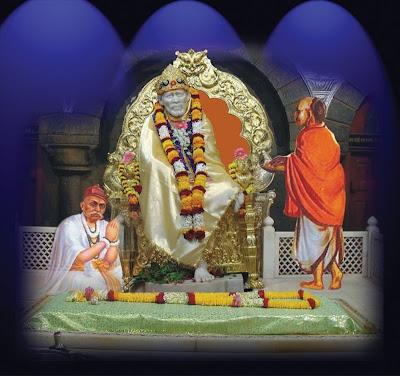 Sai Baba's Darshan