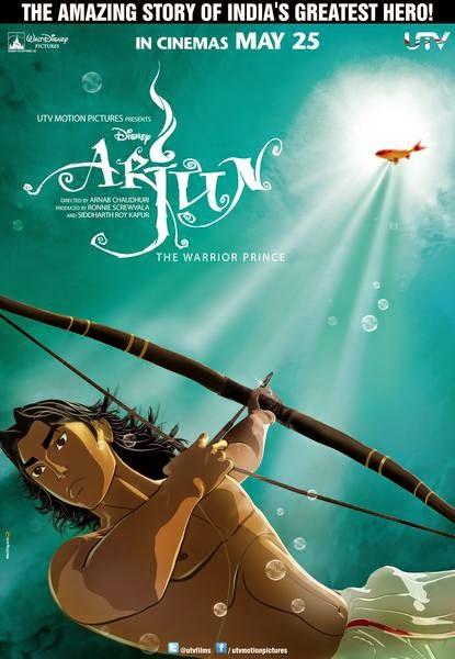 Free Download Arjun The Warrior Prince 2012 Hindi 720p