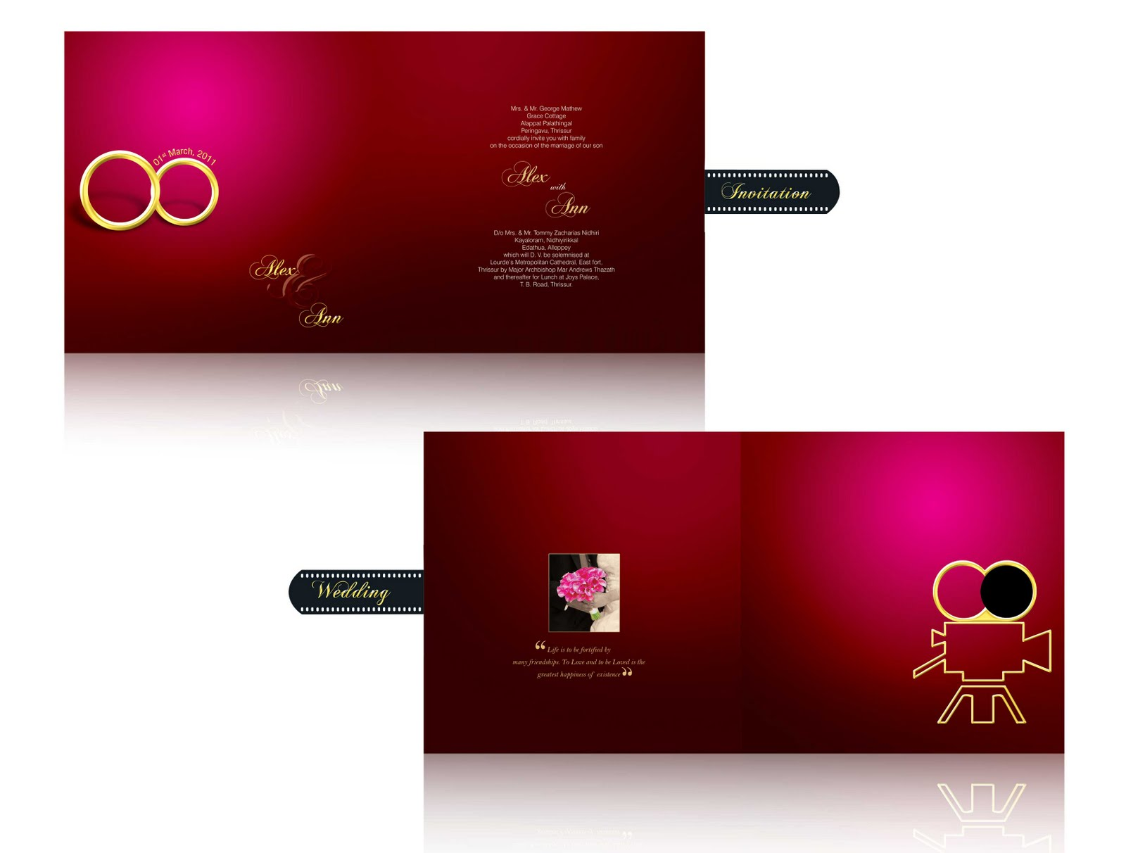 Photoshop tutorials designs wedding cards designs wedding cards designs stopboris Gallery