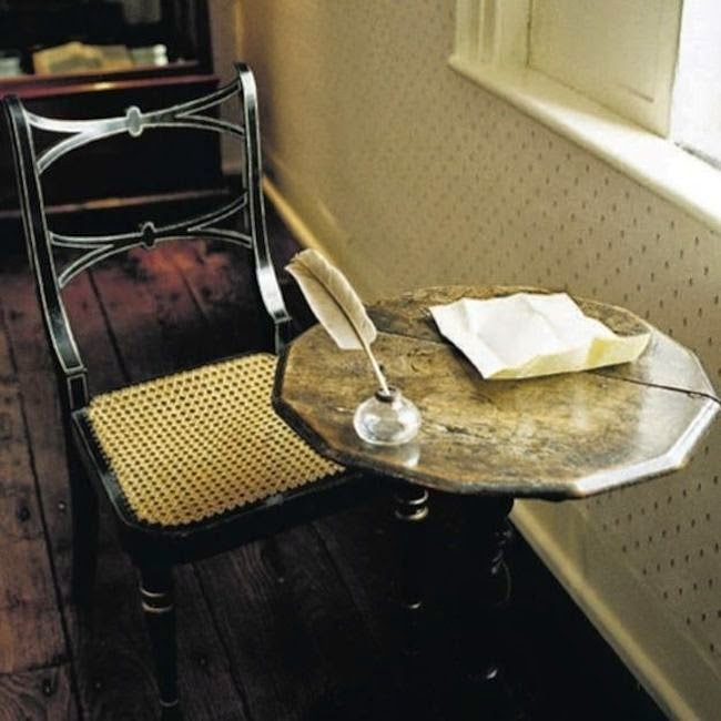 Workspaces Of The Greatest Artists Of The World (38 Pictures) - Jane Austen, novelist