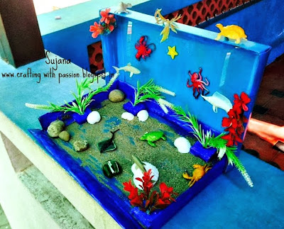 Recycling Projects For School Of Crafting With Passion Recycled Under Sea School Project