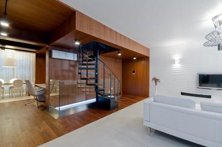 home design minimalist cream colors american walnut wood