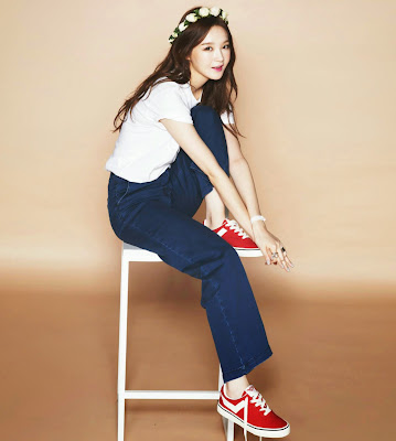 Kang Min Kyung - Nylon April 2105