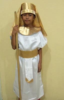 KSA-026 Kostum Mesir Laki / Egyth Boy