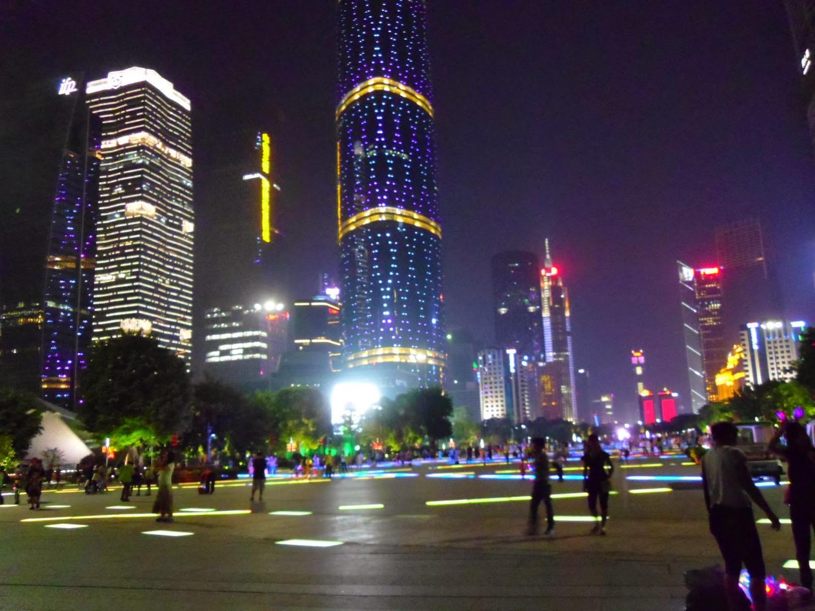 Curiosidades sobre os chineses: decorações com LED nos prédios