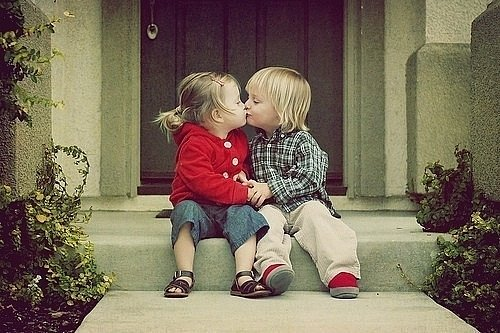 Cute Kid Couples Love Picture