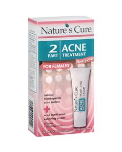 Bộ sản phẩm Nature's Cure trị mụn tốt nhất dành cho nữ