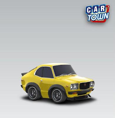 Car Town Code Promo Mazda RX-3 Race Edition 1975