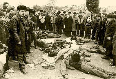 Pogrom in Baku, January 1990