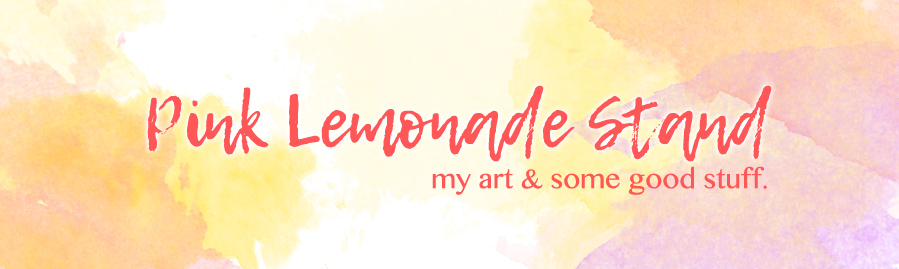 Pink Lemonade Stand by LemonShortbread