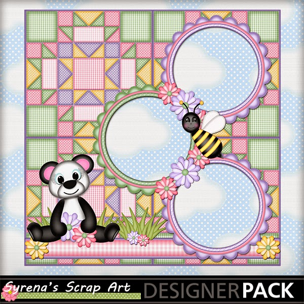 Digital Scrapbook Quick Page