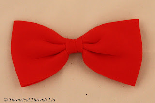 Red Bow Tie from Theatrical Threads Ltd