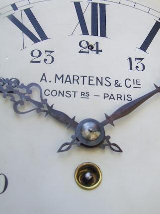 PENDULE DE GARE A,MARTENS &Cie CONSTRUCTEUR - PARIS