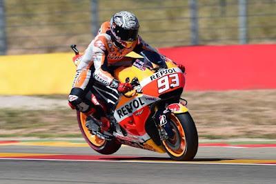 Ini 10 Pembalap yang Langusung Masuk Ke Q2 MotoGP Aragon 2015
