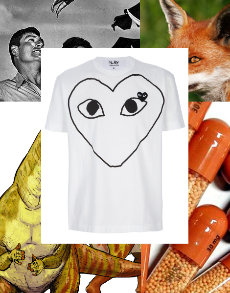 Commes Des Garcons Play T-shirt