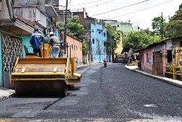Reencarpetado de la exvía del Huatusquito, contribuirá a la movilidad en Córdoba