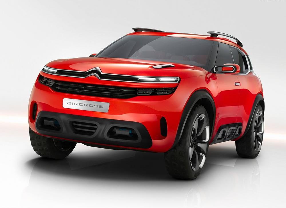 シトロエン「Aircross Concept」のフロント画像