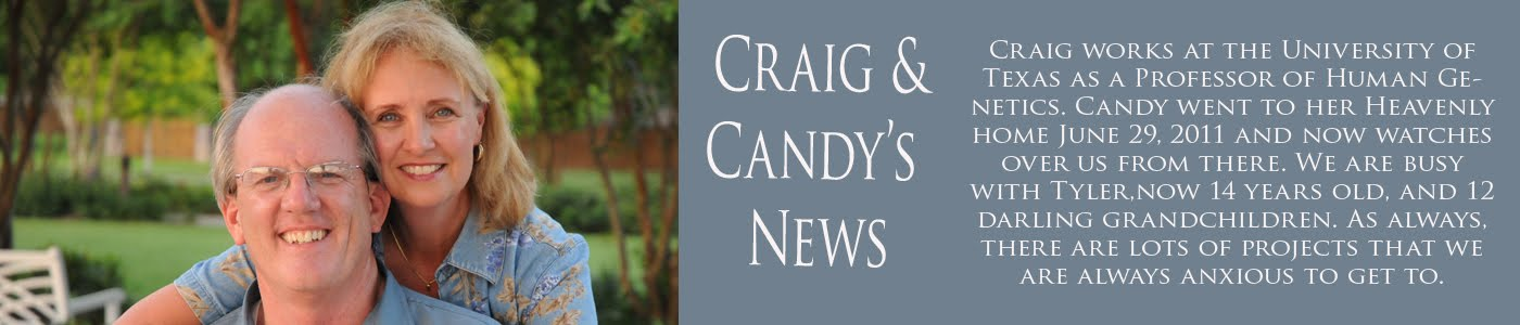 Candy and Craig's NEWS