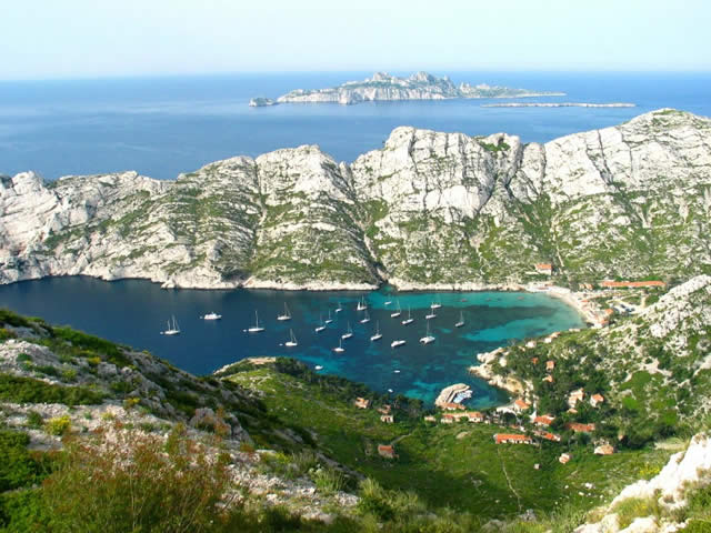 La Calanque de SORMIOU, Cassis, Marseille, France