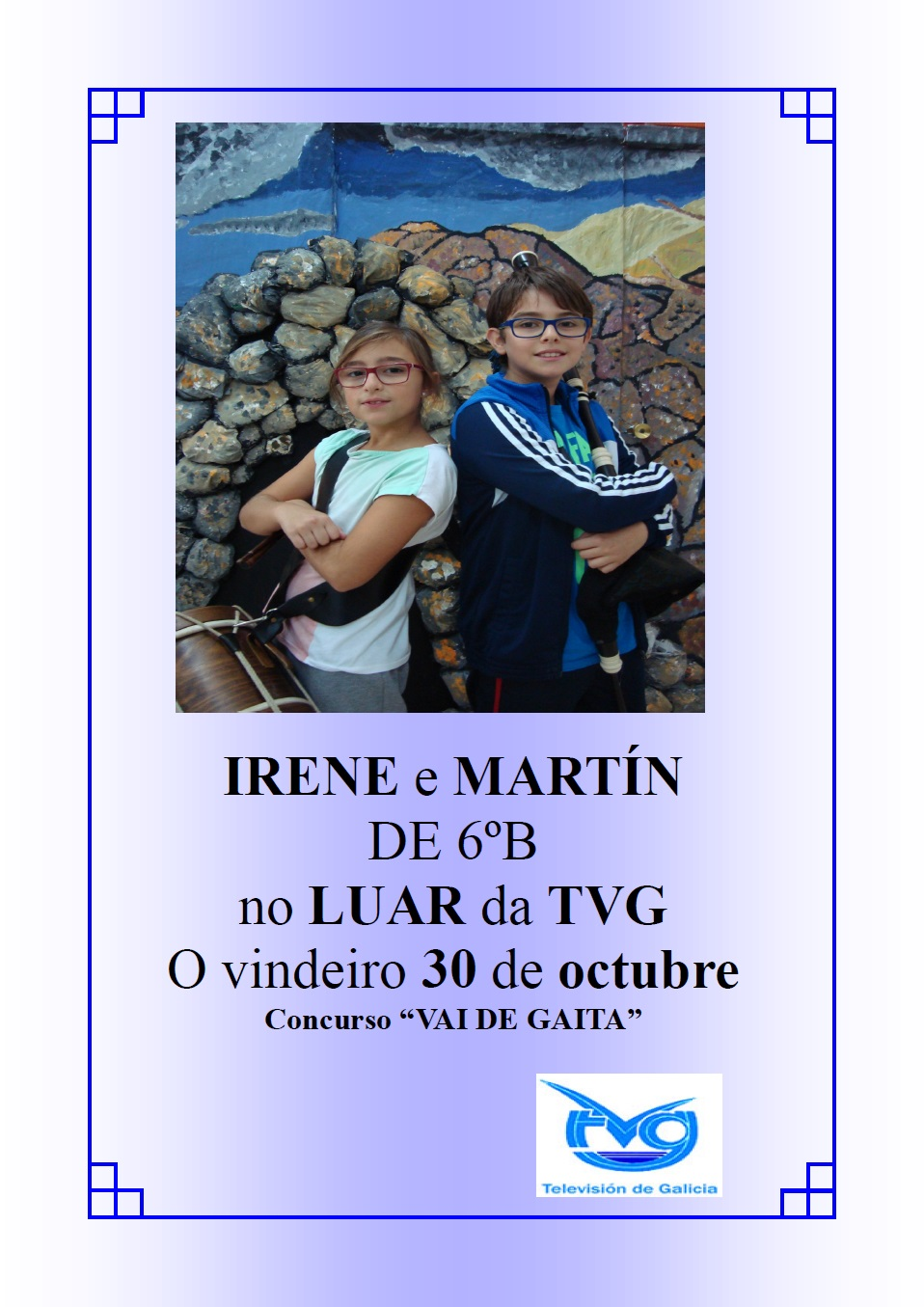 Martín e Irene no LUAR da TVG!!!