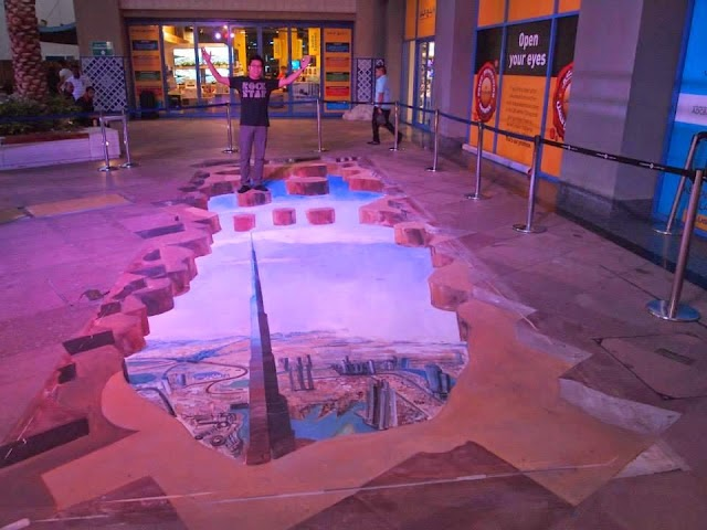 The Magic of Dubai Street Painting
