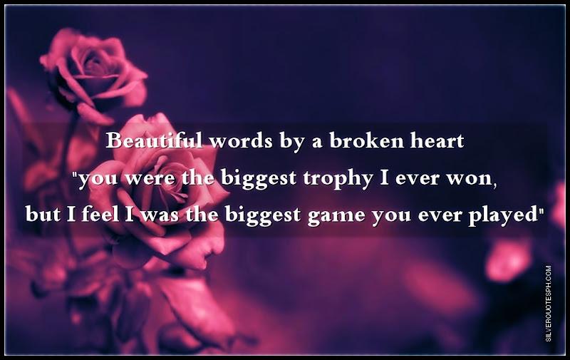 Beautiful Broken Heart Quotes