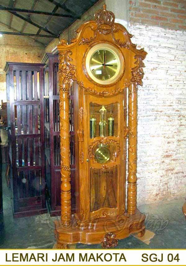 lemari jam hias-mewah besar