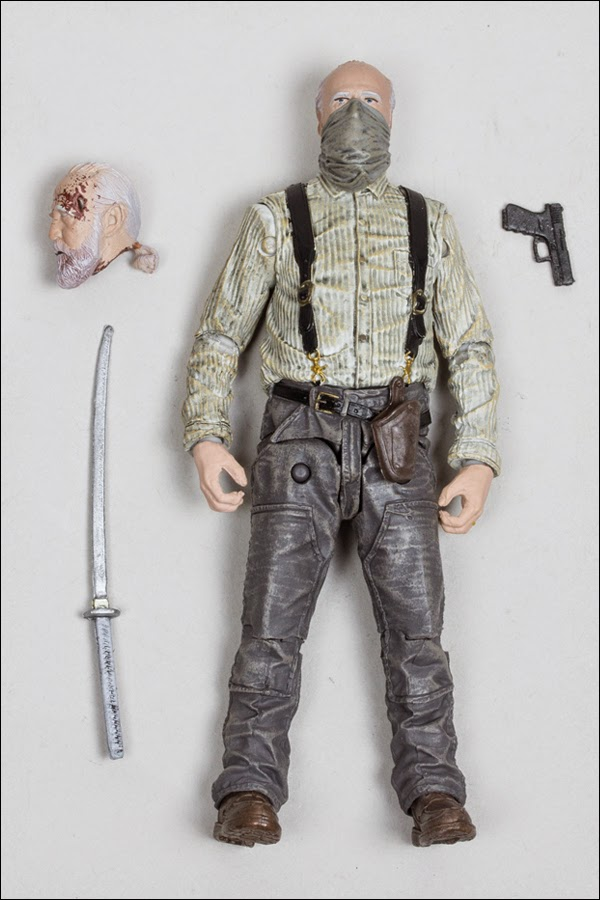 "Target Exclusive The Walking Dead Television Series ""Season 4"" Hershel Greene Action Figure by McFarlane Toys"