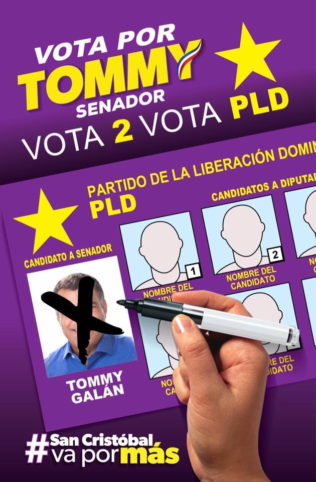 EN LA BOLETA C, VOTA 2 PLD