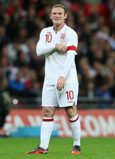 Wayne Rooney England Man United 2013