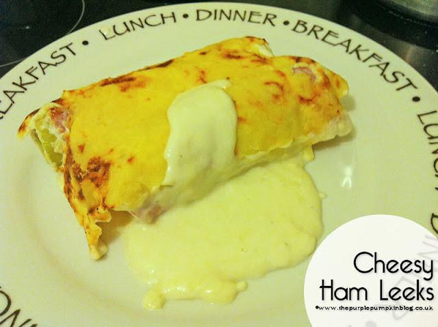 Cheesy Ham Leeks