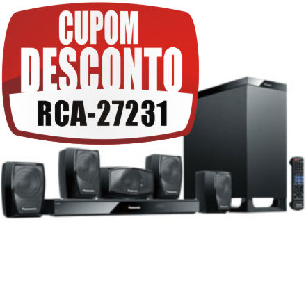 Home Theater Panasonic SC-XH150PH-K 1.000 W RMS