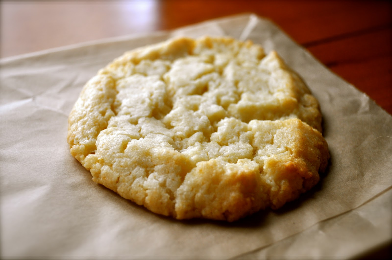 THE BEAUTY OF LIFE: Lemon Cream Cheese Cookies